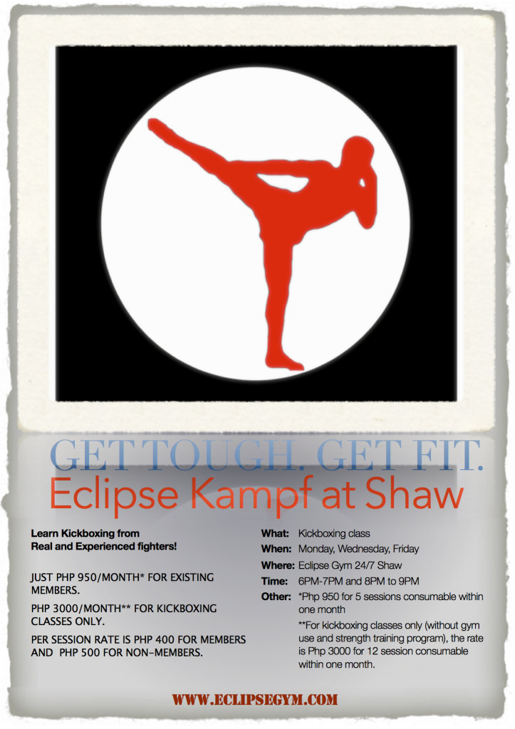 EclipseKampGetToughPoster 723x1024 Eclipse Kampf At Shaw